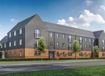 "Thumbnail 2 bed flat for sale in ""Ambersham"" at Broughton Crossing, Broughton, Aylesbury"