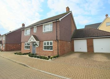 Thumbnail 4 bed detached house to rent in Cowslip Way, Augusta Park, Andover
