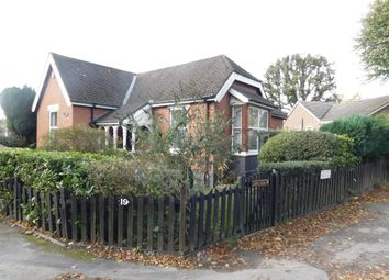 Thumbnail 2 bed bungalow for sale in Newhall Road, Swadlincote