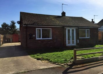 Thumbnail 2 bed detached bungalow to rent in Chapel Lane, Manby, Louth