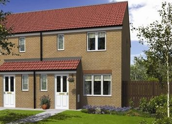 "Thumbnail 3 bed semi-detached house for sale in ""The Hanbury"" at Lyne Hill Lane, Penkridge, Stafford"
