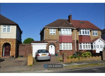 Thumbnail 3 bed semi-detached house to rent in Benedict Drive, Feltham
