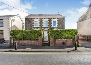 Thumbnail 4 bed detached house for sale in Station Road, Ystradgynlais, Swansea