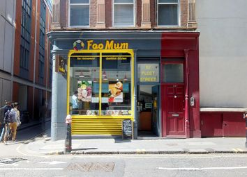 Thumbnail Retail premises for sale in Fleet Street, London