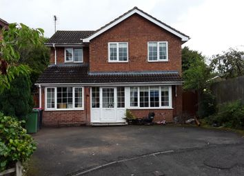 Thumbnail 4 bedroom detached house for sale in Fellows Close, Little Dawley, Telford
