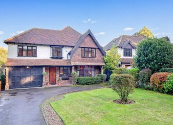 Thumbnail 5 bed detached house for sale in Wilmerhatch Lane, Epsom