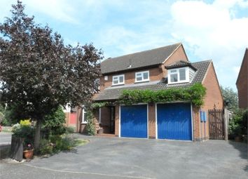 Thumbnail 5 bed detached house for sale in Willsmer Close, Broughton Astley, Leicester