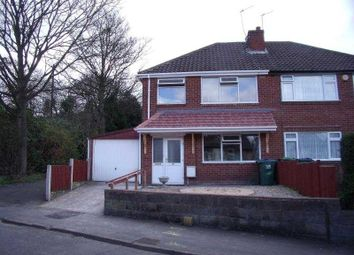 Thumbnail 3 bed semi-detached house to rent in Surfeit Hill Road, Cradley Heath, West Midlands