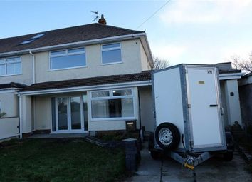 Thumbnail 3 bed semi-detached house for sale in Ceri Road, Rhoose, Vale Of Glamorgan