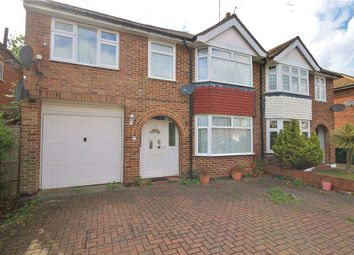 Thumbnail 5 bed semi-detached house to rent in Lodge Way, Ashford, Middlesex