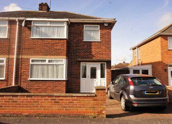 Thumbnail 3 Bed Semi Detached House For Sale In Desborough Avenue Peterborough