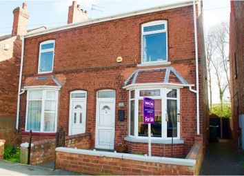 Thumbnail 3 bed semi-detached house for sale in Station Road, Misterton, Doncaster