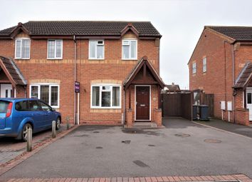 Thumbnail 3 bed semi-detached house for sale in Slaybarns Way, Ibstock