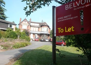 Thumbnail 2 bed flat to rent in Bodenham Road, Hereford