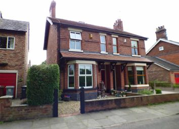 Thumbnail 3 bed semi-detached house for sale in Marsh Green Road, Elworth, Sandbach
