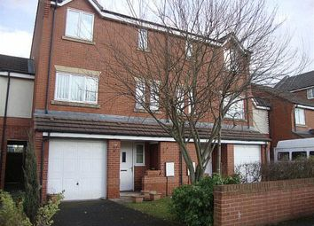Thumbnail 4 bed town house for sale in Rawsthorne Avenue, Gorton, Manchester
