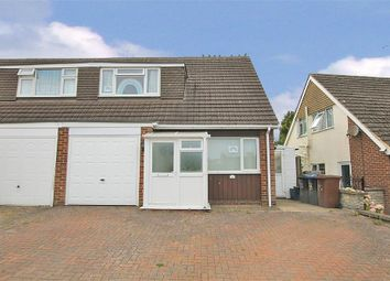 Thumbnail 3 bed semi-detached house to rent in Meadow Close, Duston, Northampton