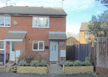 Thumbnail 2 bed end terrace house for sale in Balliol Road, Daventry