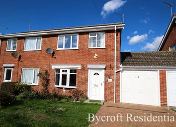 Thumbnail 3 bed semi-detached house for sale in Lexington Close, Hemsby, Great Yarmouth