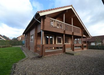 Thumbnail 3 bed lodge for sale in Chevington Green, Hadston, Morpeth