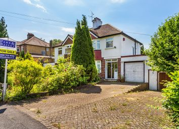 Thumbnail 3 bed semi-detached house for sale in Marlpit Lane, Coulsdon