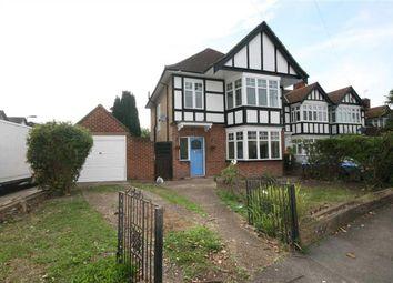 Thumbnail 4 bed detached house to rent in Kingshill Avenue, Kenton, Harrow