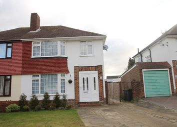 Thumbnail 3 bed semi-detached house to rent in Blenheim Road, Orpington