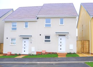 3 bed semi-detached house to rent in Longwool Run, Cullompton, Devon EX15