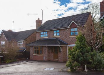 Thumbnail 4 bed detached house for sale in Fernwood Close, Wirehill, Redditch