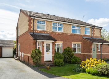Thumbnail 3 bed semi-detached house for sale in Chase Garth Road, Easingwold, York