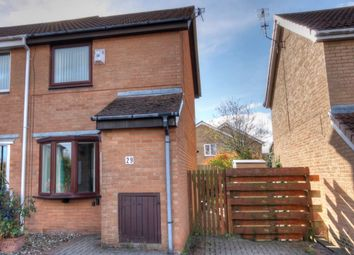 Thumbnail 2 bed semi-detached house for sale in Reedham Court, Meadow Rise, Newcastle Upon Tyne