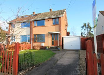 Thumbnail 3 bedroom semi-detached house for sale in Claverham, North Somerset