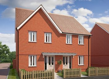 "Thumbnail 2 bed terraced house for sale in ""The Chester"" at Saunders Way, Basingstoke"