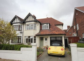 Thumbnail 3 bed semi-detached house for sale in Waterpark Road, Prenton, Wirral