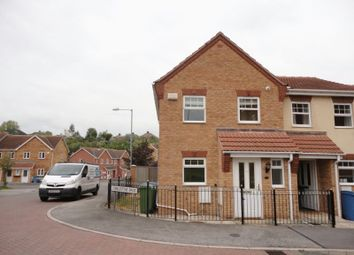 Thumbnail 3 bed terraced house to rent in Cobblestone Drive, Mansfield