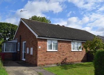 Thumbnail 2 bed semi-detached bungalow for sale in Walnut Drive, Scawby, Brigg