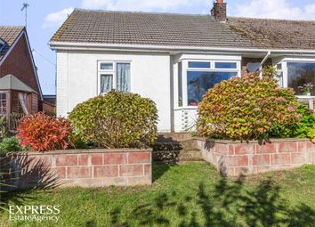 Thumbnail 3 bed semi-detached bungalow for sale in Cherry Holt, Caistor, Market Rasen, Lincolnshire