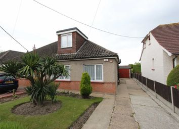 Thumbnail 3 bed semi-detached bungalow for sale in Gravel Road, Eastwood, Leigh-On-Sea