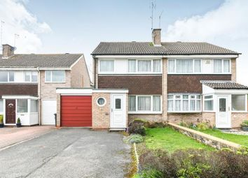 Thumbnail 3 bedroom semi-detached house for sale in Bodenham Close, Winyates West, Redditch, Worcestershire