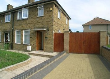 Thumbnail 3 bed end terrace house to rent in Langbrook Road, London