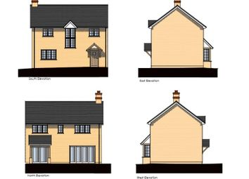 Thumbnail 3 bed semi-detached house for sale in Holmes Field, Main Road, Bentley, Farnham