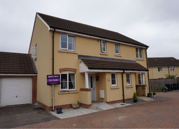 Thumbnail 3 bed semi-detached house for sale in Turnock Gardens, Weston-Super-Mare