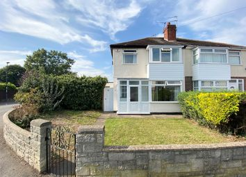 Thumbnail 3 bed semi-detached house for sale in Strathmore Avenue, Alvaston, Derby