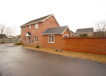 Thumbnail 3 bed detached house for sale in Shearers Drive, Spalding