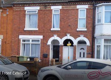 Thumbnail 4 bedroom terraced house to rent in Elsden Road, Wellingborough
