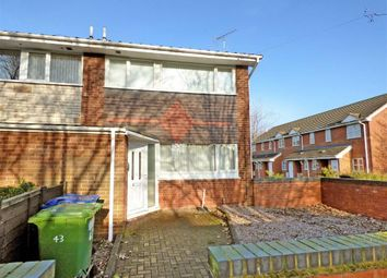 Thumbnail 3 bed end terrace house for sale in Moss Green, Rugeley, Staffordshire