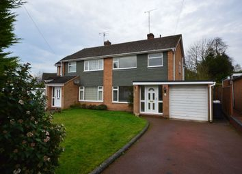 Thumbnail 3 bed semi-detached house to rent in Poplars Drive, Codsall, Wolverhampton