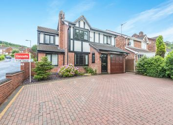 Thumbnail 4 bed detached house for sale in Clent Hill Drive, Rowley Regis