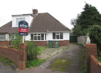 Thumbnail 2 bed semi-detached bungalow to rent in Gladstone Gardens, Fareham