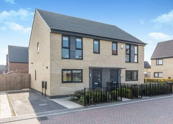 Thumbnail 3 bed semi-detached house for sale in Prince Drive, Fitzwilliam, Pontefract, West Yorkshire